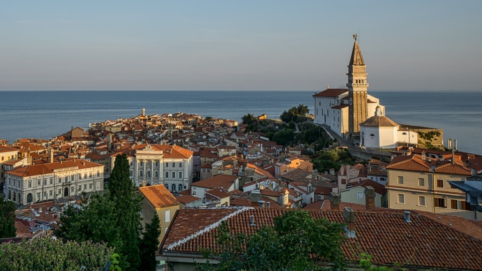 Piran at sunrise